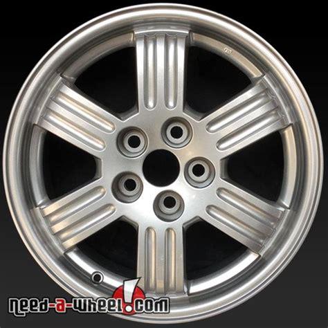wheels for mitsubishi eclipse 17x6 5 quot mitsubishi eclipse oem wheels 2000 2002 silver