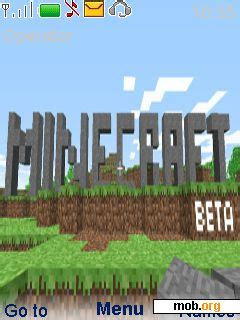 themes download mob org download free minecraft theme for symbian s40 5th edition