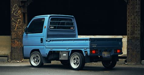kei truck this honda acty kei truck is loved by a jeep designer in