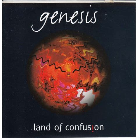 genesis land land of confusion by genesis cd with avefenixrecords