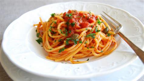 italian recipe how to make the real italian puttanesca sauce recipe