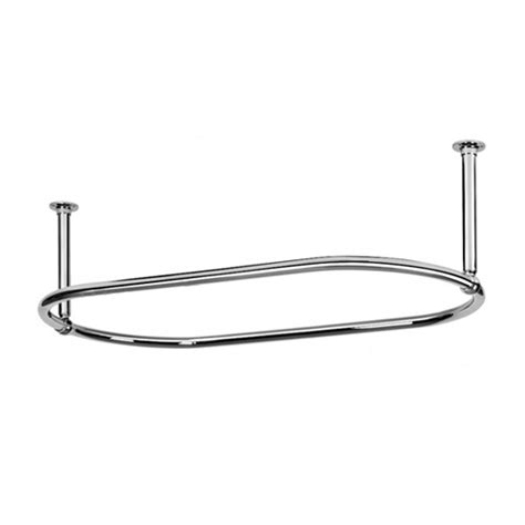 Oval Shower Rod by Oval Shower Rod One
