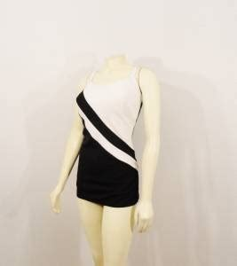 len vintage vintage swimsuit 60s pin up bombshell white black