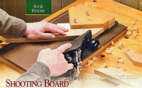 shooting board woodworking shooting board plans woodarchivist