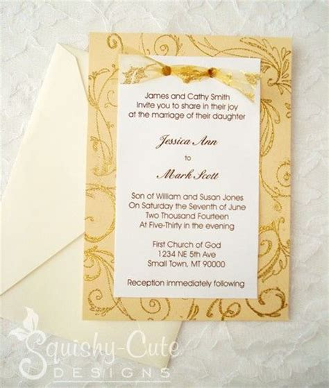 Easy Handmade Wedding Invitations - 27 best anniversary invitations images on