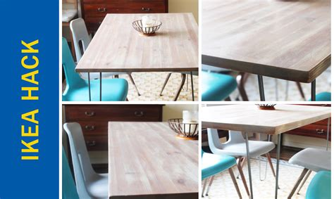 Ikea Dining Table Hack Awesome Ikea Hack Of The Week An Apartment Sized Dining Table