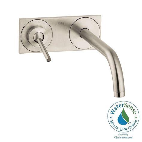 single handle wall mount bathroom faucet hansgrohe uno single handle wall mount bathroom faucet