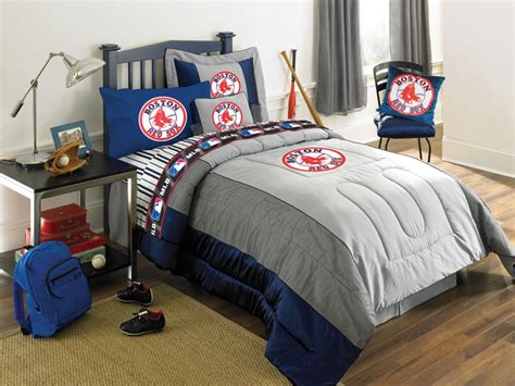 red sox bedroom boston red sox queen size sheets set