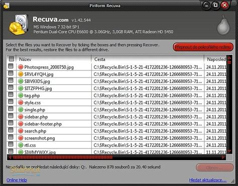 recuva 1 44 778 data recovery latest full version free download recuva na stiahnutie zadarmo stiahnut sk