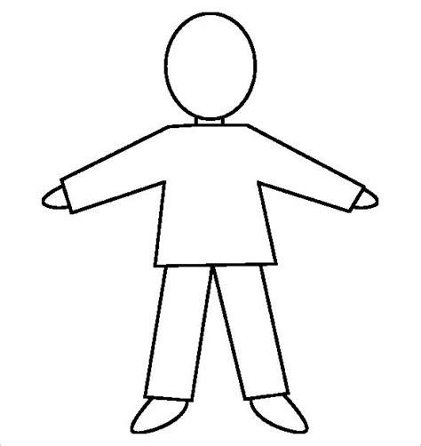 23 Body Outline Templates Pdf Jpg Free Premium Templates Human Template