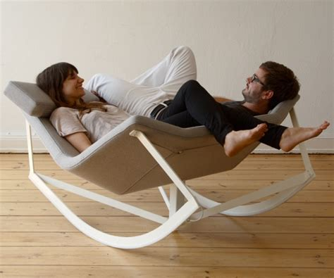 Couples Chair by Gadgetsmarkus Krauss Rocking Chair For Couples