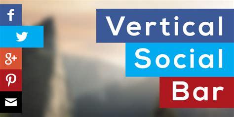 hacer imagenes para redes sociales como hacer una barra social vertical con html y css3