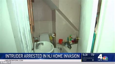 with stranger in bathroom new jersey man tries to climb into shower in home invasion