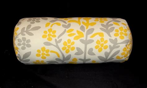 How To Make A Bolster Pillow by A Of The Yellows Bolster Pillow Tutorial