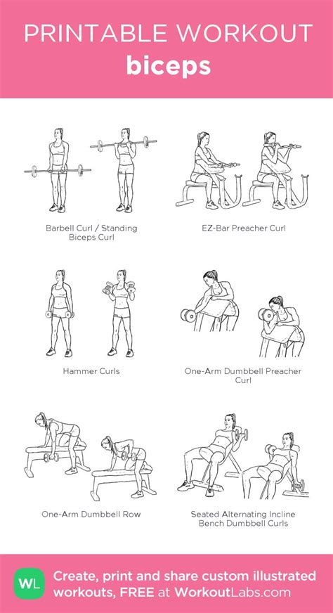best 25 bicep workouts for ideas on