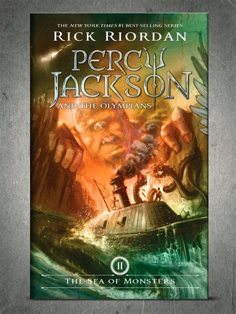 The Sea Of Monsters Cover 8 Th Anniversary Percy J Oleh Rick R rick riordan s percy jackson and the olympians gets new cover by kernel s corner