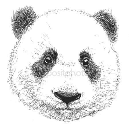 St Pandablack linhas limpas doodle desenho de cara de tigre para gr 225 fico de t shirt tatuagem colorir livro