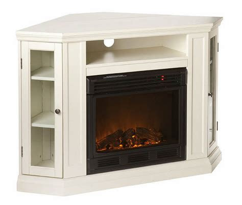 gorgeous white fireplace tv stand on fresno electric