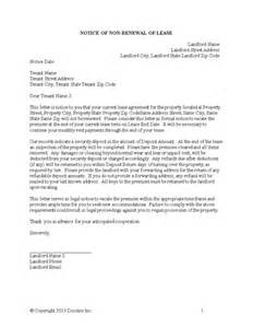 Renewal Of Lease Agreement Letter by Lease Renewal Letter Free Bike