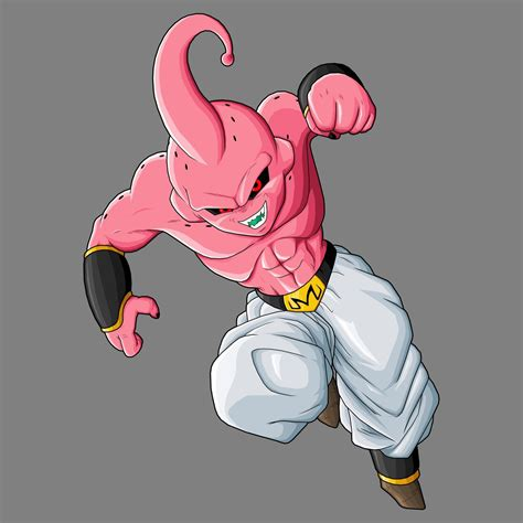 Scultures Majin Boo Pastel Ver kid buu by drozdoo on deviantart