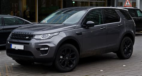 land rover discovery sport black datei land rover discovery sport td4 hse black paket
