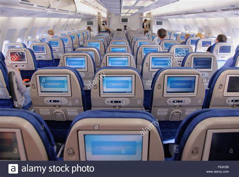 airbus a330 interior interior passenger cabin of the airbus a330 of