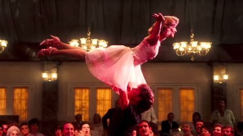 dirty dance jennifer grey reveals iconic dirty dancing routine was