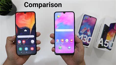 Samsung Galaxy A50 Vs M30 by Samsung A50 Vs Galaxy M30 Detail Comparison I