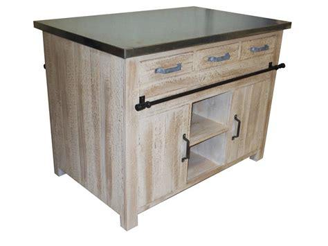 meuble central cuisine pas cher ilot central meubles cuisine pin massif pas cher la remise