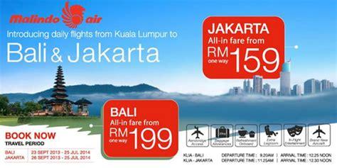 cheap flights indonesia airasia jakarta cgk denpasar malindo air adds jakarta airport and denpasar bali airport