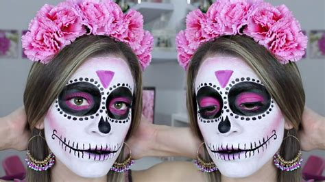 imagenes de catrina halloween maquillaje de catrina f 225 cil para principiantes halloween
