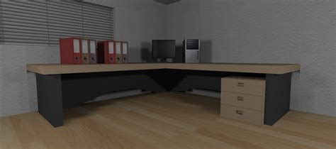 Corner Desk Set Office Corner Desk Set Counter Strike 1 6 Gt Prefabs Gt Furniture Gamebanana