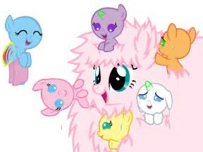 party with fluffle puff pony base by 101pandamaniac101 on