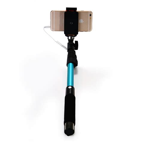 Monopod Iphone wired selfie stick extendable monopod mirror handheld for iphone 6 plus 6 5s 5c ebay
