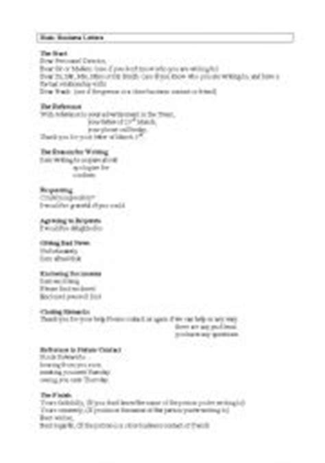 Business Letter Format Exercise Worksheet Business Letter Exercise Worksheet Pdf Business