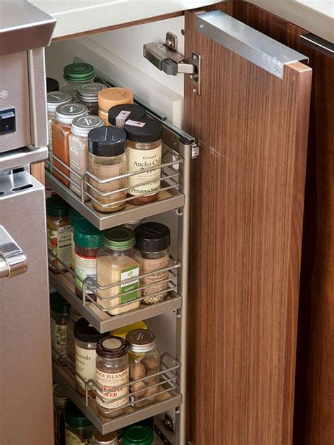 best 25 pull out spice rack ideas on kitchen