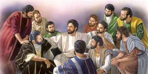 jesus comforts his disciples jesus the way the truth the life watchtower online library