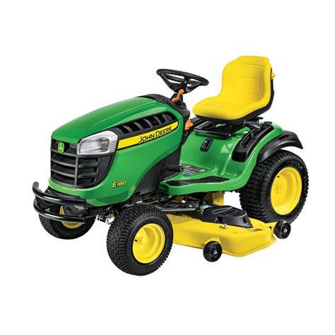John Deere Home Depot Gift Card - john deere e180 54 in 25 hp v twin els gas hydrostatic lawn tractor bg21072 the