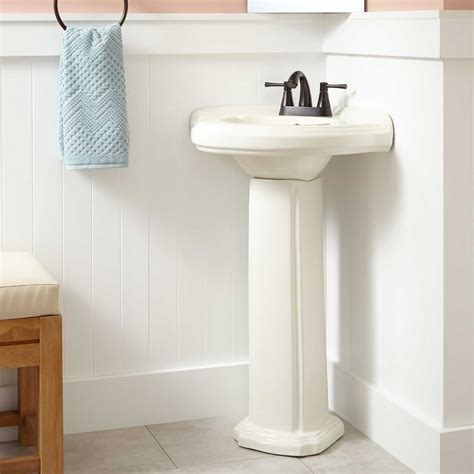corner pedestal sinks for bathrooms gaston corner porcelain pedestal sink corner sinks