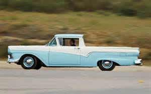 comparison 1957 ford ranchero vs 1959 chevrolet el camino