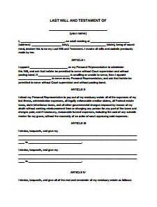 joint will and testament template last will and testament form free create edit