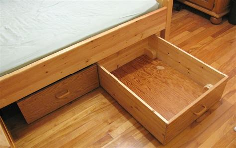 Bed Storage Drawers On Wheels by Bed Storage Drawers