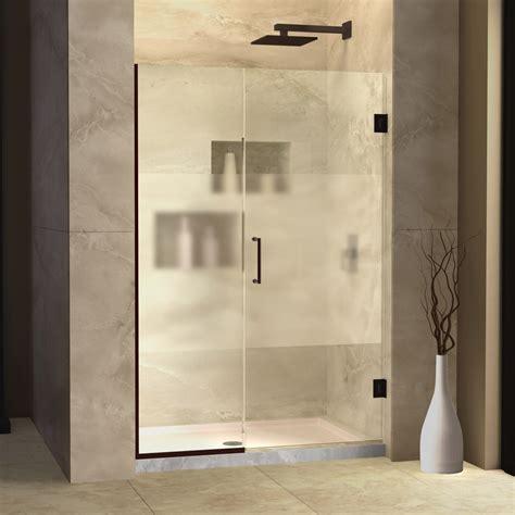 Elegant frameless sliding glass shower doors home ideas collection