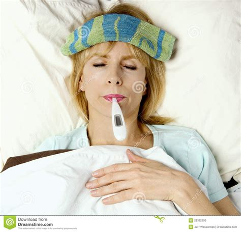 sick bed im sick in bed stock photo image 29352500