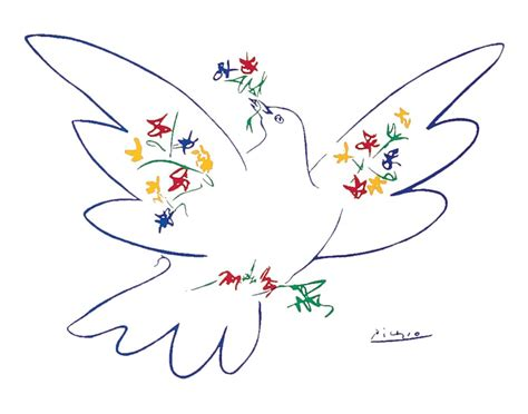 picasso paintings dove dove of peace 1949 by pablo picasso