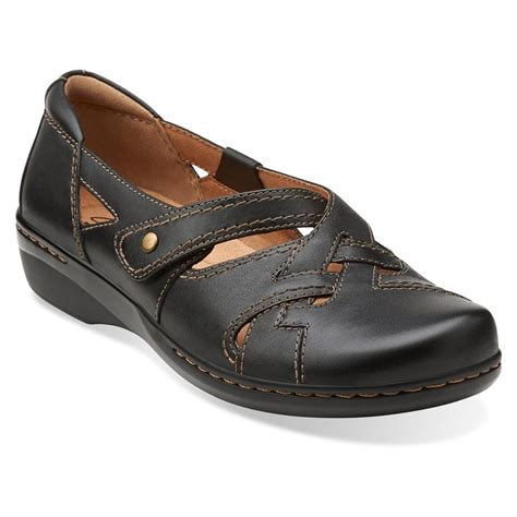 clarks womens evianna peal shoes