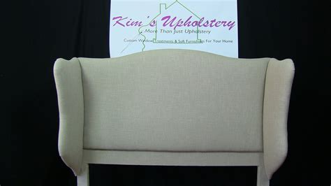 Upholster A Headboard How To Build And Upholster A Wingback Headboard