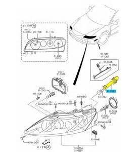 brand new oem front headlight turn signal bulb socket mazda 6 mazdaspeed 6 ebay