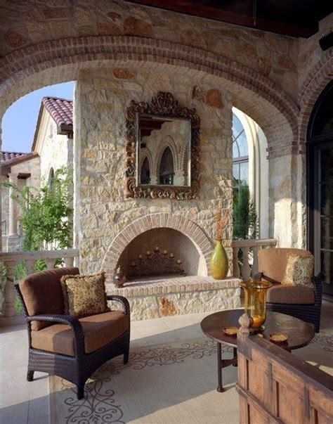 patio design  tuscan style wwwnicespaceme