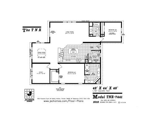 imlt 46412b mobile home floor plan ocala custom homes tnr 7441 mobile home floor plan ocala custom homes